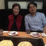 陳以平教授と、大阪にて