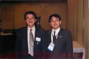 寺澤捷年先生と。北京での中西医結合学会にて